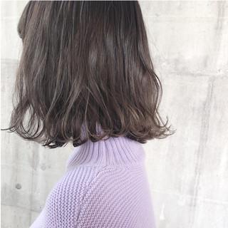ヘアアレンジ ナチュラル ボブ アンニュイほつれヘア ヘアスタイルや髪型の写真・画像