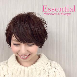 大人かわいい グラデーションカラー 暗髪 フェミニン ヘアスタイルや髪型の写真・画像