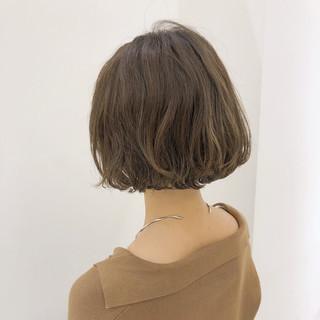 透明感 大人かわいい パーマ フェミニン ヘアスタイルや髪型の写真・画像