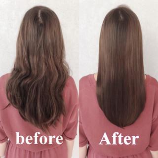 トリートメント 髪質改善トリートメント 似合わせカット 縮毛矯正 ヘアスタイルや髪型の写真・画像