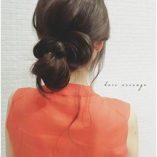 ショート ラフ 簡単ヘアアレンジ 簡単 ヘアスタイルや髪型の写真・画像