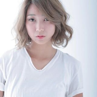 色気 ナチュラル 外国人風 グラデーションカラー ヘアスタイルや髪型の写真・画像