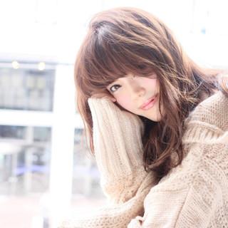 コンサバ 秋 モテ髪 ニット ヘアスタイルや髪型の写真・画像 ヘアスタイルや髪型の写真・画像