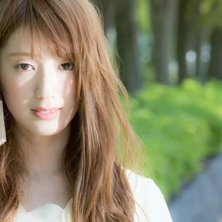 フェミニン ストリート 大人かわいい 外国人風 ヘアスタイルや髪型の写真・画像