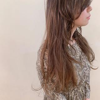 大人かわいい ロング アンニュイほつれヘア ゆるふわ ヘアスタイルや髪型の写真・画像