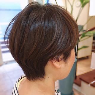 ナチュラル 刈り上げ ベリーショート 刈り上げ女子 ヘアスタイルや髪型の写真・画像
