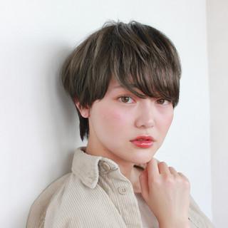 ショートヘア ショートボブ ベリーショート モテ髪 ヘアスタイルや髪型の写真・画像