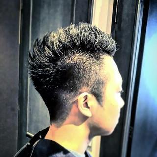 モード ショート 刈り上げ 坊主 ヘアスタイルや髪型の写真・画像