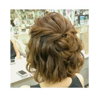 リラックス 簡単ヘアアレンジ ヘアアレンジ ナチュラル ヘアスタイルや髪型の写真・画像 ヘアスタイルや髪型の写真・画像
