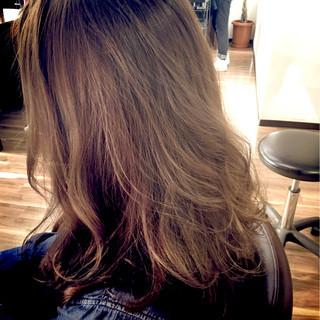 大人かわいい グラデーションカラー ミディアム 渋谷系 ヘアスタイルや髪型の写真・画像