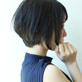 小顔 ナチュラル 似合わせ オフィス ヘアスタイルや髪型の写真・画像