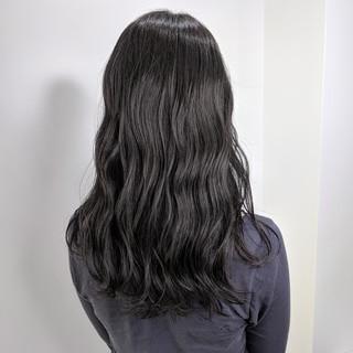 ナチュラル 艶髪 ゆるふわ 透明感 ヘアスタイルや髪型の写真・画像