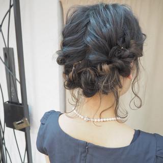 ヘアアレンジ ショート ボブ インナーカラー ヘアスタイルや髪型の写真・画像