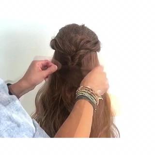 女子会 簡単ヘアアレンジ 涼しげ 結婚式 ヘアスタイルや髪型の写真・画像