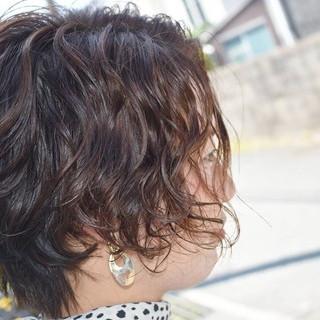 ハンサムショート カット ショート モード ヘアスタイルや髪型の写真・画像