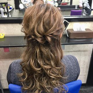 フェミニン ヘアカラー 成人式 ロング ヘアスタイルや髪型の写真・画像 | シンディー(店長)/shinji / hair make salon Revier