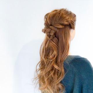 上品 デート エレガント 簡単ヘアアレンジ ヘアスタイルや髪型の写真・画像