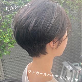 ナチュラル ベリーショート 秋冬スタイル ショート ヘアスタイルや髪型の写真・画像