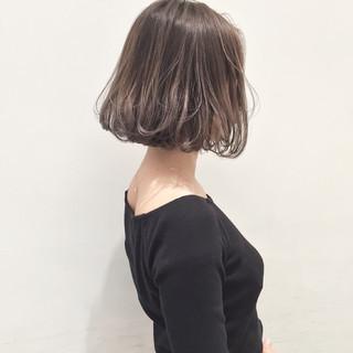 ストリート ボブ 外国人風 アッシュ ヘアスタイルや髪型の写真・画像