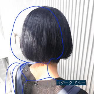 髪質改善 ボブ ストレート 前髪 ヘアスタイルや髪型の写真・画像