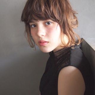 外国人風 ストリート パーマ ショート ヘアスタイルや髪型の写真・画像 ヘアスタイルや髪型の写真・画像