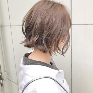 簡単ヘアアレンジ ヘアアレンジ ボブ ナチュラル ヘアスタイルや髪型の写真・画像 ヘアスタイルや髪型の写真・画像