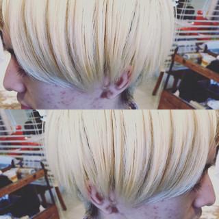 メンズ 外国人風 ストリート ショート ヘアスタイルや髪型の写真・画像