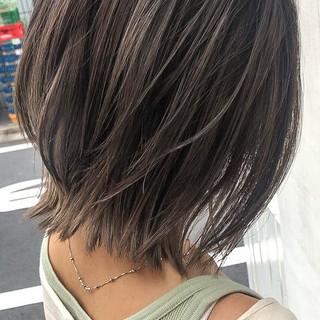 バレイヤージュ 外国人風カラー ハイライト アンニュイほつれヘア ヘアスタイルや髪型の写真・画像