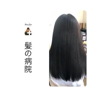 トリートメント 頭皮ケア ロング ナチュラル ヘアスタイルや髪型の写真・画像 ヘアスタイルや髪型の写真・画像