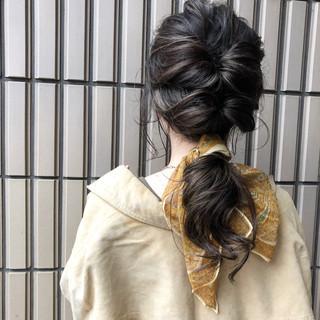 グレージュ ロング オーガニックカラー ハイライト ヘアスタイルや髪型の写真・画像 ヘアスタイルや髪型の写真・画像