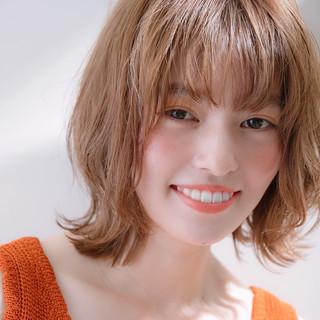 ヘアアレンジ パーマ ナチュラル 愛され ヘアスタイルや髪型の写真・画像