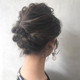 大人かわいい ボブ 結婚式 フェミニン ヘアスタイルや髪型の写真・画像 ヘアスタイルや髪型の写真・画像