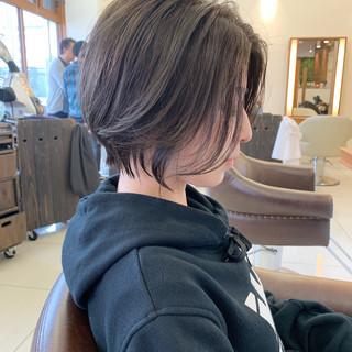 ふんわり ショートヘア ふんわりショート ヘアスタイルや髪型の写真・画像 ヘアスタイルや髪型の写真・画像
