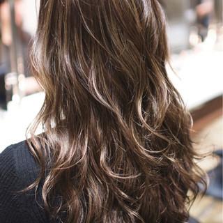 ハイライト 外国人風カラー ロング ダブルカラー ヘアスタイルや髪型の写真・画像