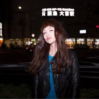 ロング フェミニン オン眉 ストリート ヘアスタイルや髪型の写真・画像