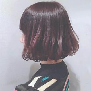 抜け感 ボブ 透明感 ナチュラル ヘアスタイルや髪型の写真・画像
