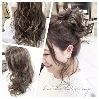 ルーズ ロング 外国人風 大人かわいい ヘアスタイルや髪型の写真・画像