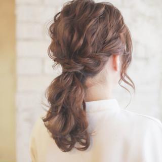 簡単ヘアアレンジ ヘアアレンジ ショート ハーフアップ ヘアスタイルや髪型の写真・画像