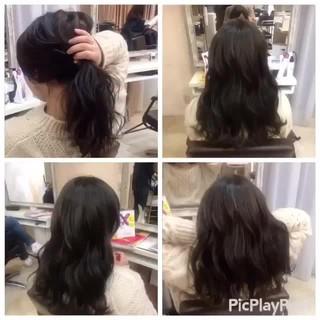 成人式 メンズ ロング フェミニン ヘアスタイルや髪型の写真・画像