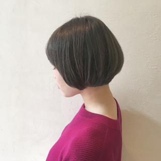 ボブ ストリート 前髪あり 外国人風 ヘアスタイルや髪型の写真・画像