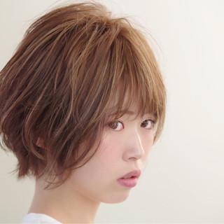 ゆるふわ アンニュイ ショート ヘアアレンジ ヘアスタイルや髪型の写真・画像