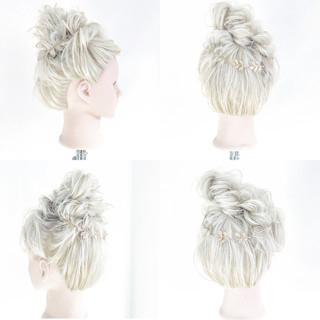 ロング 夏 アップスタイル 和装 ヘアスタイルや髪型の写真・画像