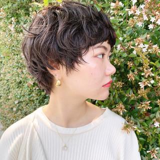 簡単ヘアアレンジ アンニュイほつれヘア ナチュラル ブラウンベージュ ヘアスタイルや髪型の写真・画像