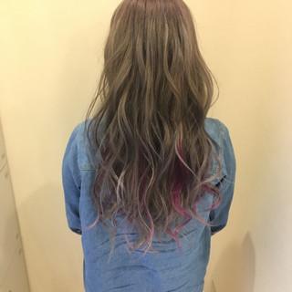 モテ髪 ロング 透明感 外国人風カラー ヘアスタイルや髪型の写真・画像