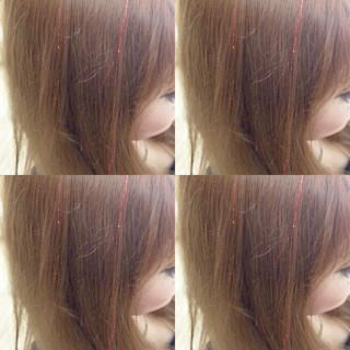 イベント ヘアアレンジ ガーリー モテ髪 ヘアスタイルや髪型の写真・画像