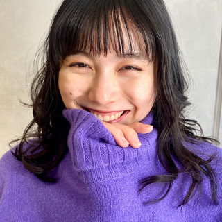 ミディアム ナチュラル モテ髮シルエット 秋冬スタイル ヘアスタイルや髪型の写真・画像