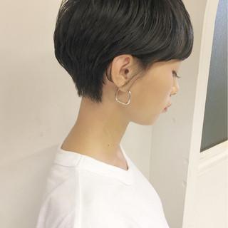 ショート アウトドア 女子力 簡単ヘアアレンジ ヘアスタイルや髪型の写真・画像
