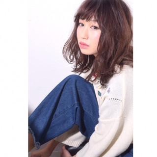 フェミニン ガーリー 冬 艶髪 ヘアスタイルや髪型の写真・画像