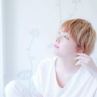 モード かっこいい ピンク パステルカラー ヘアスタイルや髪型の写真・画像