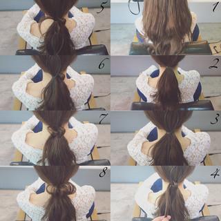 夏 パーティ セミロング ショート ヘアスタイルや髪型の写真・画像